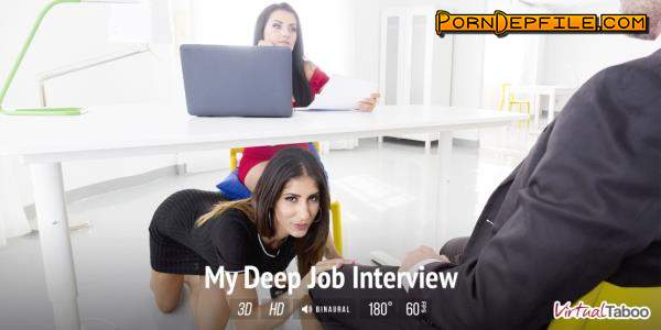 VirtualTaboo: Bianka Blue & Raquel Martin - My Deep Job Interview (VR) 1500p