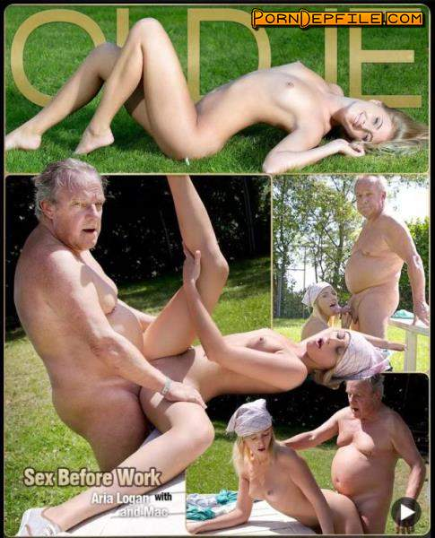 Oldje, ClassMedia: Aria Logan - Paunchy Daddy Sex (Doggystyle, Mature, Teen, Incest) 480p