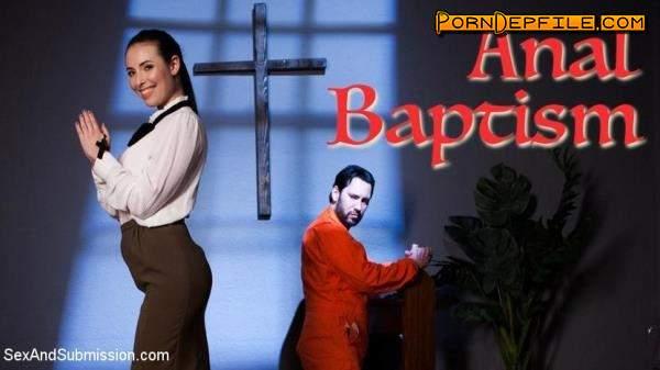 SexAndSubmission: Casey Calvert - Anal Baptism (Rough Sex, Deep Throat, Anal, BDSM) 540p