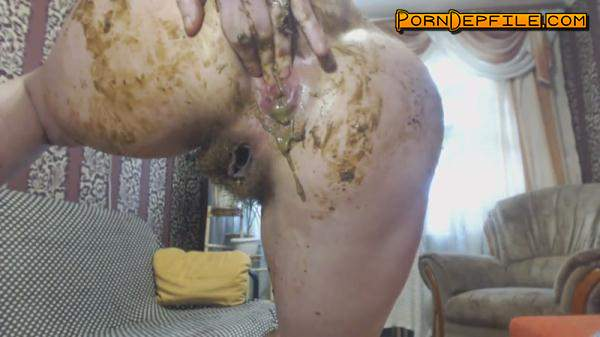 Scat Porn: I play with trousers to orgasm (Scat) 1080p