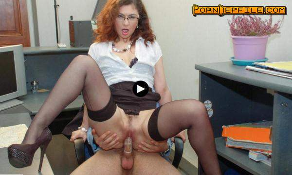 LaCochonne: Julia Gomez Punishes Her Employee With Her Pussy and Ass (SD, Milf, Anal) 480p