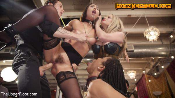 TheUpperFloor, Kink: The Upper Floor Returns With a Squirting Slave Fuck Fest (Rough Sex, Deep Throat, Anal, BDSM) 540p