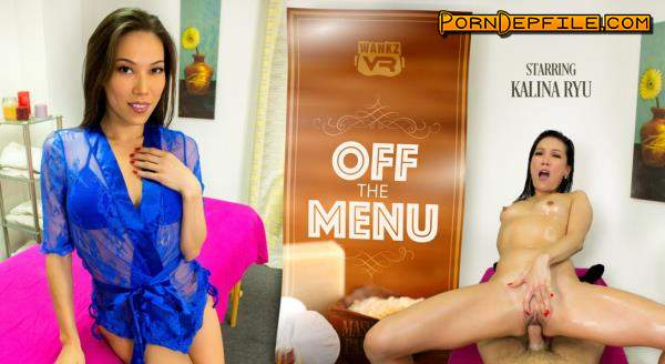 WankzVR: Kalina Ryu - Off The Menu (VR) 1080p