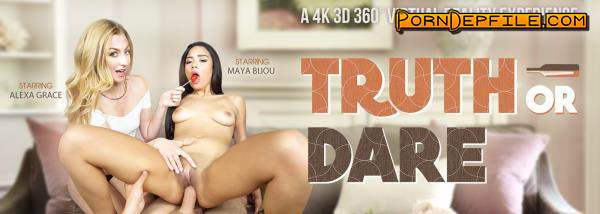 VRbangers: Alexa Grace & Maya Bijou - Truth or Dare (VR) 2560p