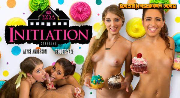 WankzVR: Alyce Anderson & Brooke Haze - Initiation (VR) 1600p