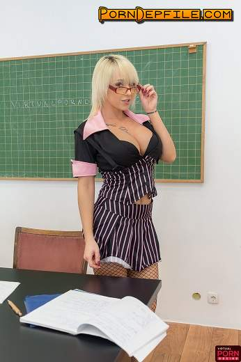 VirtualPornDesire: Christina Shine - Big Tits Naughty Teacher (VR) 1440p