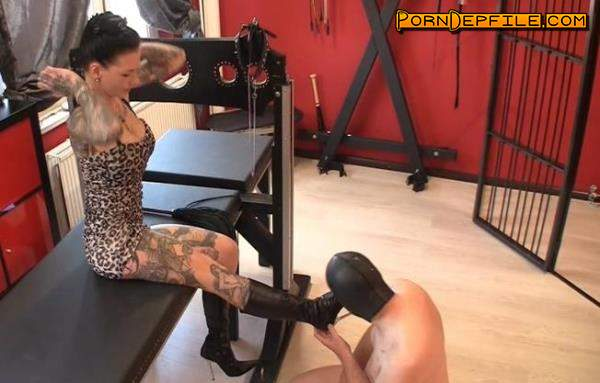 Scat Porn: Lick my dirty boots and be my toilet (Scat) 1080p