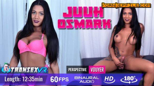 TransexVR: Juuh Osmark - Self Pleasure (Anal, Transsexual, Shemale, VR) (Oculus) 1920p