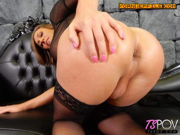 TsPov: Nikki Jade Taylor - Super Busty Beauty Takes The Cock In Both Holes (POV, Anal, Transsexual, Shemale) 1080p