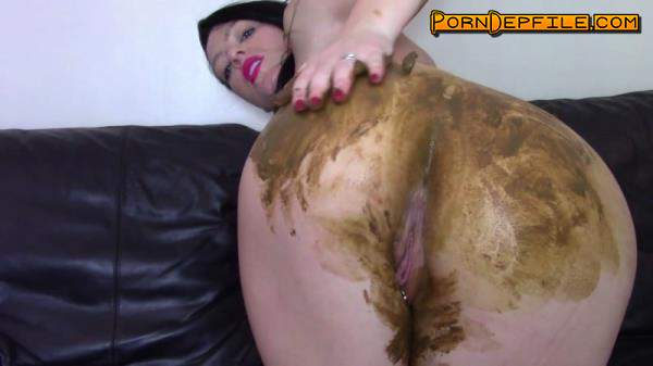 ScatShop: Evamarie88 - Huge Fart Then Shit On Sofa And Smear (Scat) 1080p