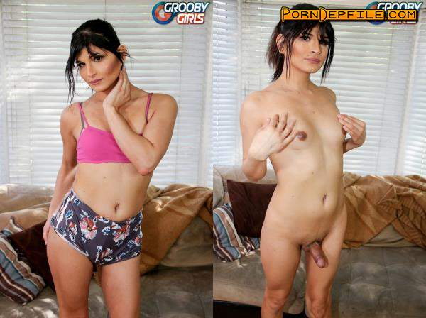 Buddy Wood, GroobyGirls: Monica Raven - Monica Raven's Climax! (SD, Solo, Transsexual, Shemale) 480p