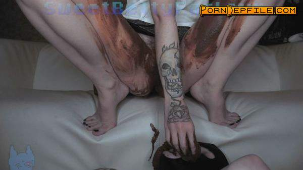 ScatShop: DirtyBetty - Toilet Slave Bundle. Part 2 (Scat) 1080p