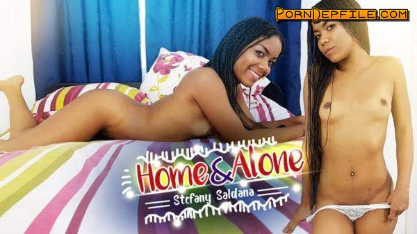 VRLatina: Stefany Saldana - Home and Alone (Blowjob, Big Ass, Cowgirl, VR) (Oculus) 1500p