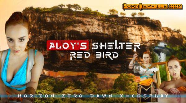 RealityLovers: Red Bird - Aloy's Shelter POV (Cowgirl, Big Tits, Teen, VR) (Oculus) 2700p