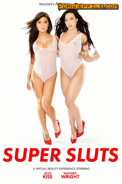 NaughtyAmericaVR: Jojo Kiss, Whitney Wright - Super Sluts (Deep Throat, Brunette, Asian, VR) (Oculus) 2048p