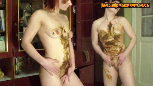 ScatShop: Two lesbians show their game with shit. Part 2 (Scat) 1080p