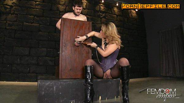 FemdomEmpire: Kylie Kalvetti - Crimped Cock Cage (SD, Fetish, Femdom) 432p