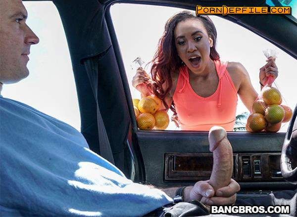 BrownBunnies, BangBros: Demi Sutra - Demi Sutra Fucks to Sell Oranges (Cumshot, Cowgirl, Brunette, Amateur) 480p