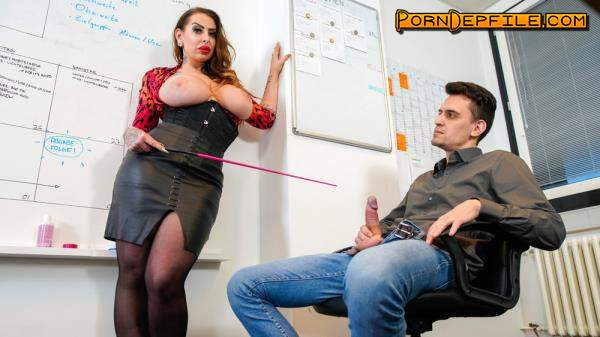 BumsBuero, PornDoePremium: Nina Vegas - Bossy Mature Vixen Fucks Boy Toy At The Office (Cumshot, Brunette, Big Tits, Milf) 480p