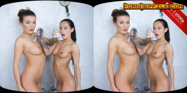 CzechVRFetish, CzechVR: Lexi Dona, Vanessa Decker - Czech VR Fetish 124 - Two Pissing Babes (Lesbian, Fetish, Pissing, VR) (3D) 1440p