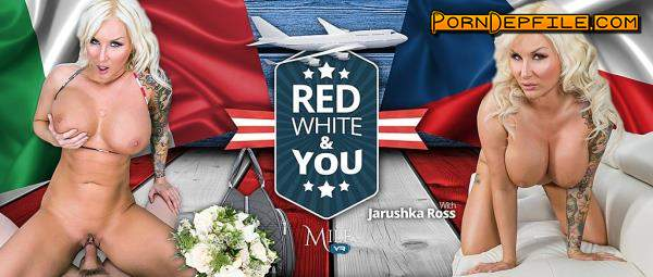 MilfVR: Jarushka Ross - Red, White and You (POV, Big Tits, Milf, VR) (3D) 1080p