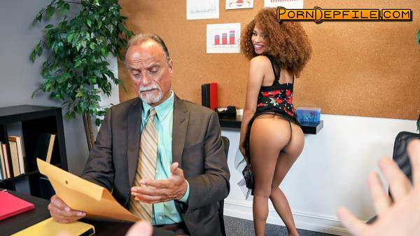IKnowThatGirl, Mofos: Cecilia Lion - The Boss' Daughter (Blowjob, POV, Ebony, Doggystyle) 480p