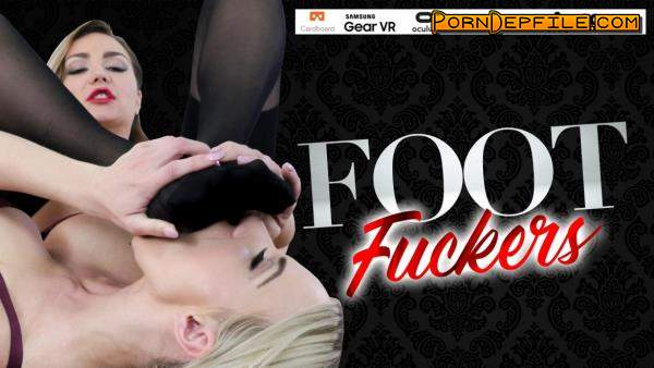 StockingsVR: Nathaly Cherie, Victoria Puppy - Foot Fuckers (Teen, Lesbian, Fetish, VR) (Oculus Rift, Vive) 1920p