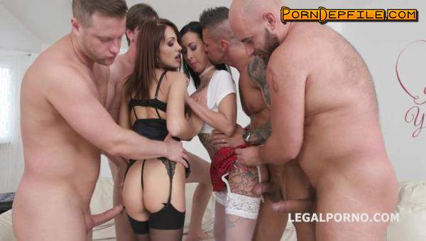 LegalPorno: Dominica Phoenix, Lily Lane, Neeo, Rocket, Thomas Lee, Angelo - Double Addicted with Anal fisting Lily Lane & Dominica Phoenix Balls Deep Anal DAP Gapes Fisting GIO660 (Big Tits, Anal, Fetish, Fisting) 480p