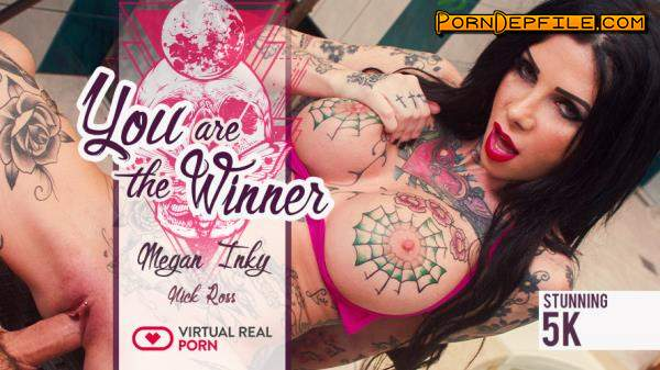 VirtualRealPorn: Megan Inky - You are the Winner (POV, Big Tits, Anal, VR) (Smartphone, Mobile) 1080p