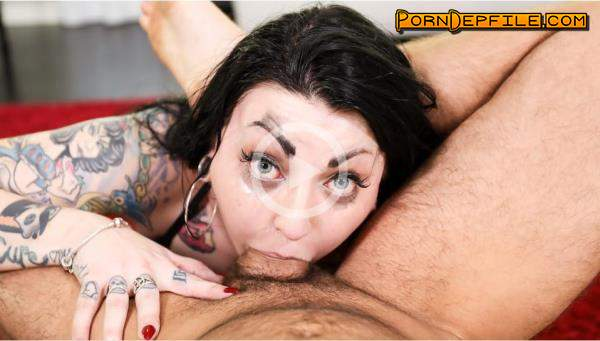 Throated, BlowPass: Draven Star - Alt Deepthroat (Facial, Cumshot, Deep Throat, Big Tits) 720p