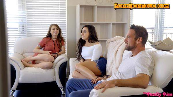 Myfamilypies: Alex Blake, Whitney Wright - Sharing Daddy (Brunette, Blonde, Threesome, Incest) 1080p