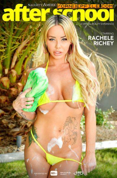 NaughtyAmericaVR: Rachele Richey - After Scho (Blonde, Asian, Big Tits, VR) (Gear VR) 1440p