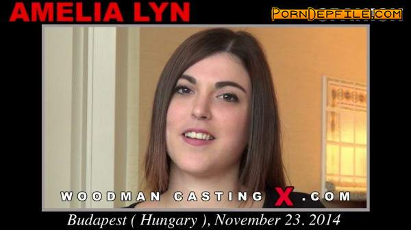 WoodmanCastingX: Amelia Lyn - Casting X 134 * Updated * (Anilingus, Casting, Group Sex, Anal) 480p