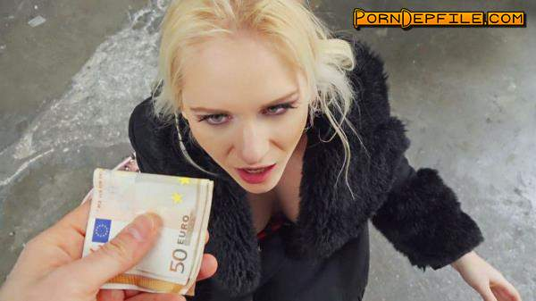 PublicPickUps, Mofos: Rossella Visconti - Italian Blonde Loves Public Sex (POV, Outdoor, Doggystyle, Cowgirl) 480p