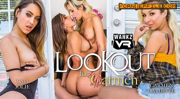 WankzVR: Carmen Caliente, Uma Jolie - Lookout for Carmen (Brunette, Blonde, Fetish, VR) (Gear VR) 1600p
