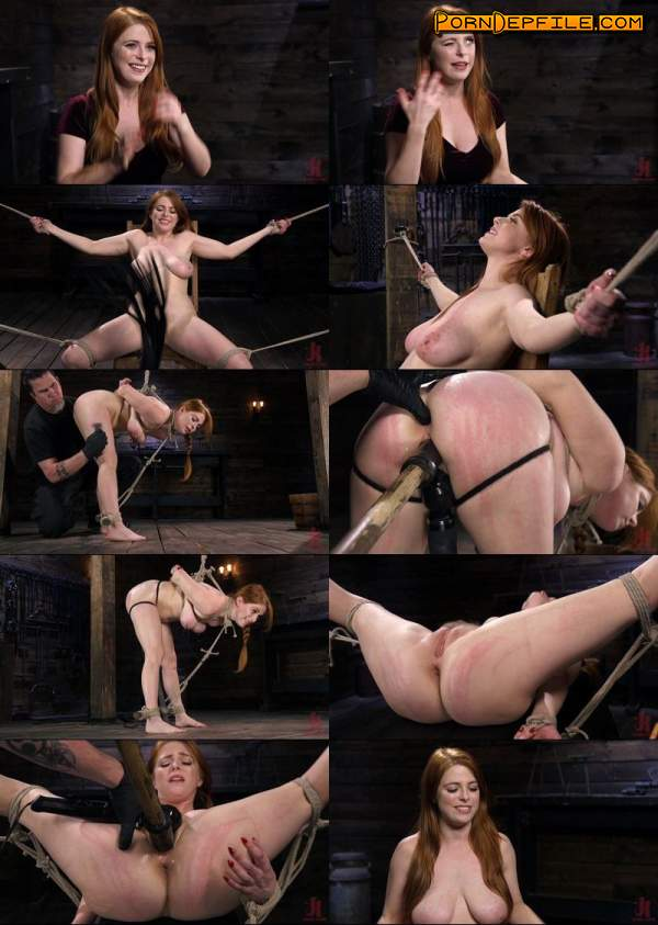 Hogtied, Kink: Penny Pax - Red Headed Slut is Bound, Tormented, Double Penetrated and Made to Cum (HD Porn, Toys, BDSM, Bondage) 720p