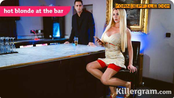 Pornostatic, Killergram: Lucy Sky - Hot Blonde At The Bar (HD Porn, Blonde, Big Tits) 720p