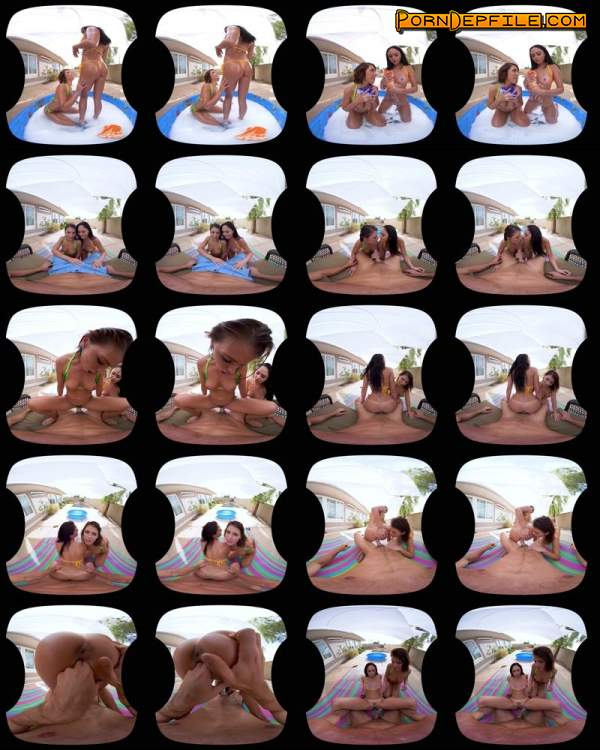NaughtyAmericaVR: Adriana Chechik, Ariana Marie - After School (Deep Throat, Brunette, Asian, VR) (Gear VR) 1440p