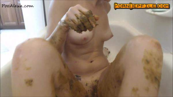 PooAlexa: Poo Alexa - Completely Covered (Scat) 1080p