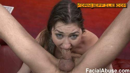 FacialAbuse: Skin, Bones, and Bolt Ons (Deep Throat, Facial, Anal, Threesome) 480p