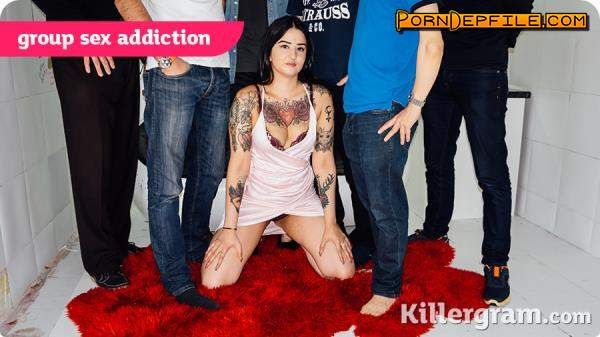 UK Reality Swingers, Killergram: Bambi Ink - Group Sex Addiction (SD, Brunette, GangBang) 360p
