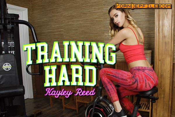 BaDoinkVR: Haley Reed - Training Hard (Blowjob, Blonde, Teen, VR) (Oculus) 1920p
