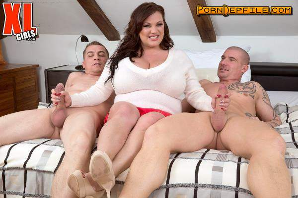 ScoreHD, PornMegaLoad, XLgirls: Nila Mason - Nila Mason & The Two Studs (HD Porn, FullHD, BBW, Threesome) 1080p