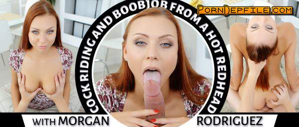 TmwVRnet: Morgan Rodriguez - Cock Riding and Boobjob From a Hot Redhead (Doggystyle, Deep Throat, Cowgirl, VR) (Oculus) 1920p