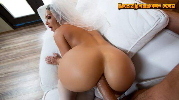 BigWetButts, Brazzers: Cali Carter - Big Wet Bridal Butt (Blonde, Asian, Big Tits, Anal) 480p