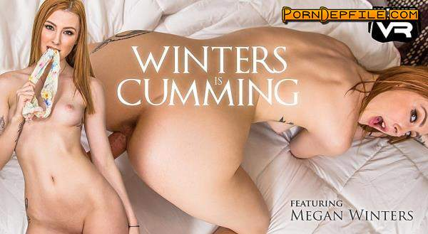 WankzVR: Megan Winters - Winters Is Cumming (Creampie, Cowgirl, Teen, VR) (Oculus) 1600p