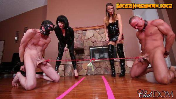 ClubDom: Jean Bardot, Paris Knight - Mistress Games: Tug of War (HD Porn, FullHD, Fetish, Femdom) 1080p