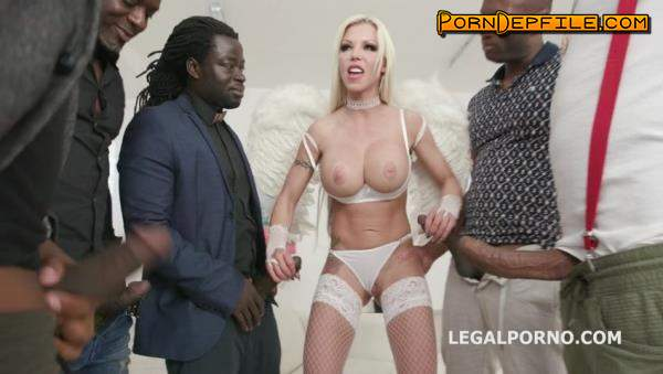 LegalPorno: Barbie Sins, Yves Morgan, Antonio Black, Dylan Brown, Freddy Gong - Waka Waka, Blacks are Coming! Barbie Sins goes black for the first time with Balls Deep Anal DAP Gapes Swallow GIO694 (Big Tits, GangBang, Interracial, Anal) 480p