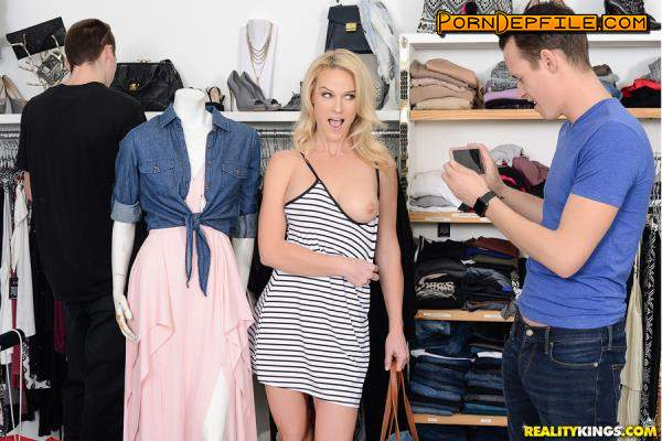 SneakySex, RealityKings: Sydney Hail - Shopping With Bae (Toys, POV, Masturbation, Blonde) 432p