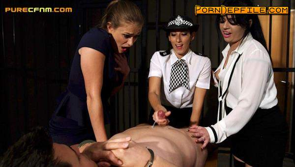 PureCFNM: Catalia Valentine, Clea Gaultier, Honour May - Parole Hearing (Fetish, BDSM, Femdom, Humiliation) 480p